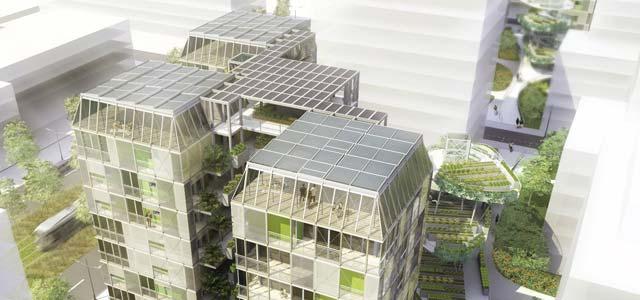 La maison plus cologique en europe est fran aise assurance de pr t online - Maison du futur ecologique ...